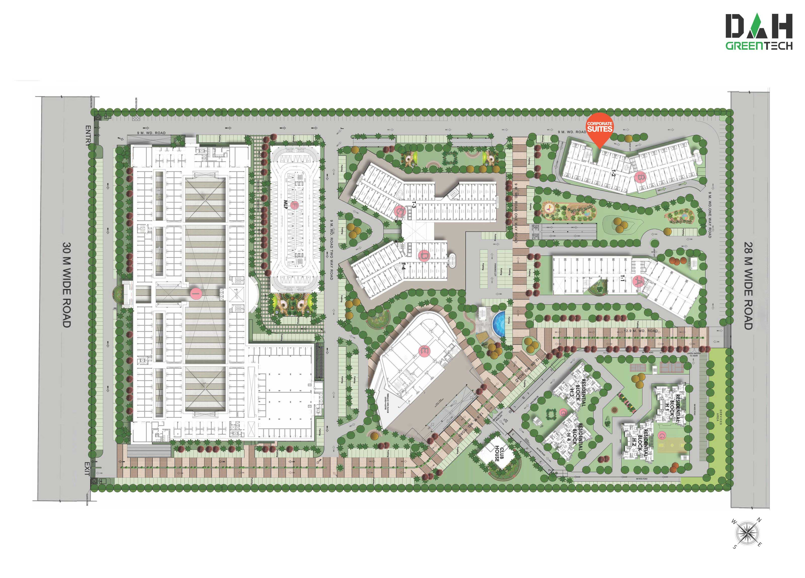 nx one site plan