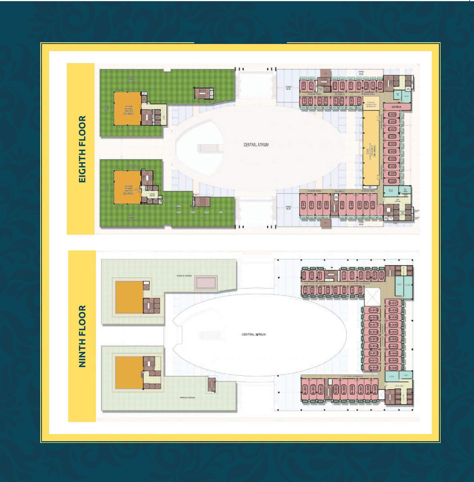 pks town central floor plan
